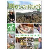 """Biocontact 196 """"Les métiers de la bio"""""""