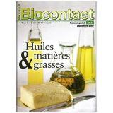 """Biocontact 194 """"Huiles & matières grasses"""""""