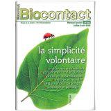 """Biocontact 182 """"La simplicité volontaire"""""""