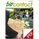 """n°232 - """"Le choix du bio"""""""