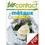 n°240 - Métaux & santé