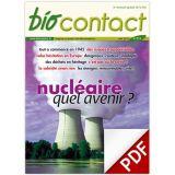 """Biocontact 213 """"Nucléaire : quel avenir?"""""""
