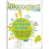 """Biocontact 207 """"Pour un monde durable"""""""
